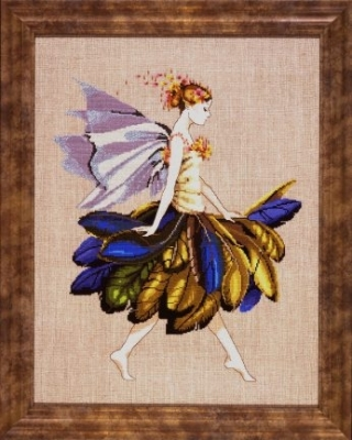 "Схема ""Feather Fairy • Фея с перьями"" Mirabilia Designs MD83"