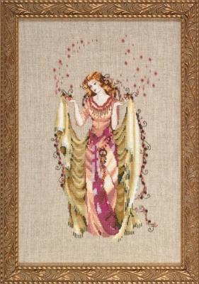 "Схема ""Forest Goddess • Богиня леса"" Mirabilia Designs MD87"