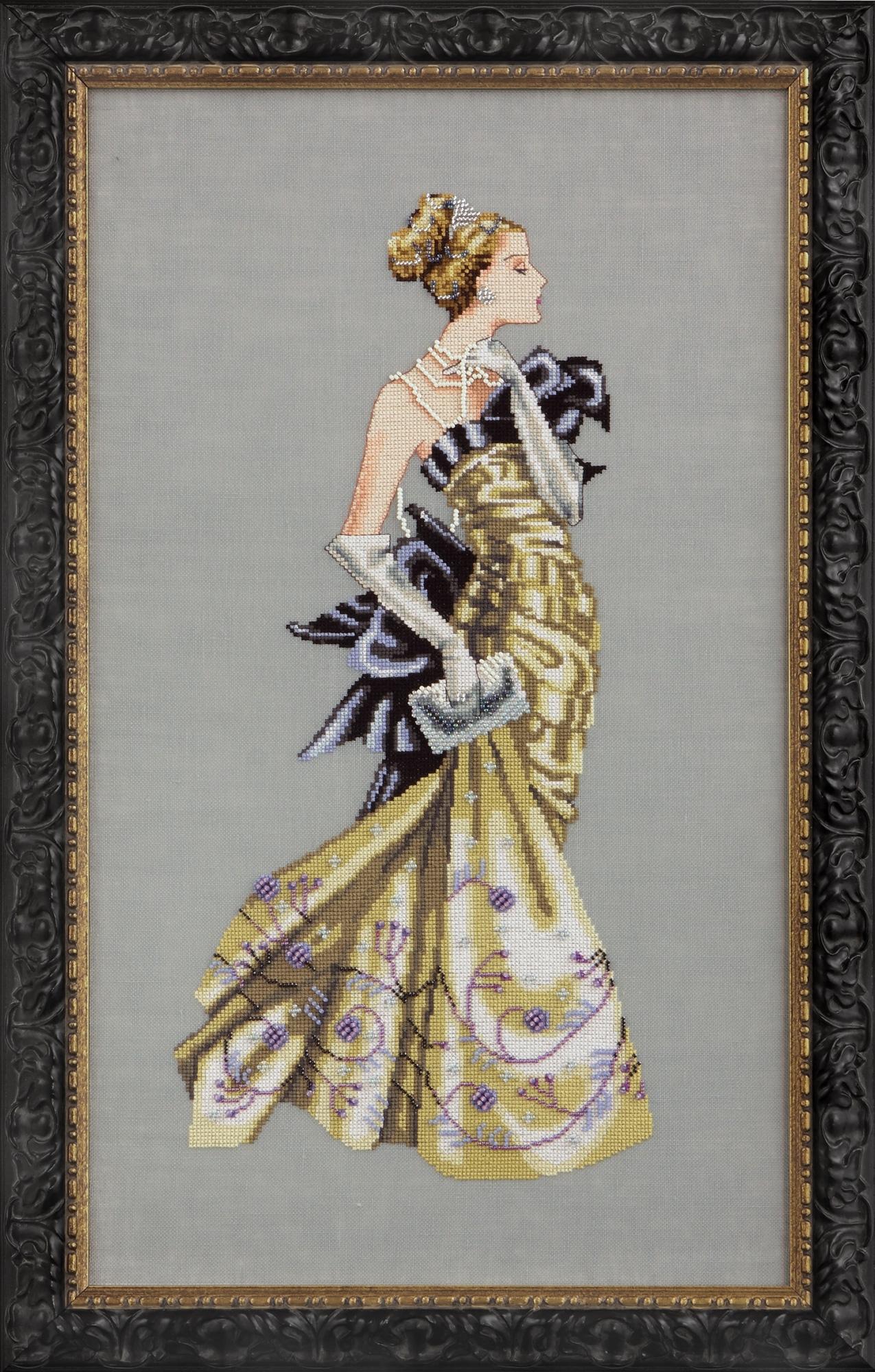 "Схема ""Lady Alexandra • Леди Александра"" Mirabilia Designs MD115"