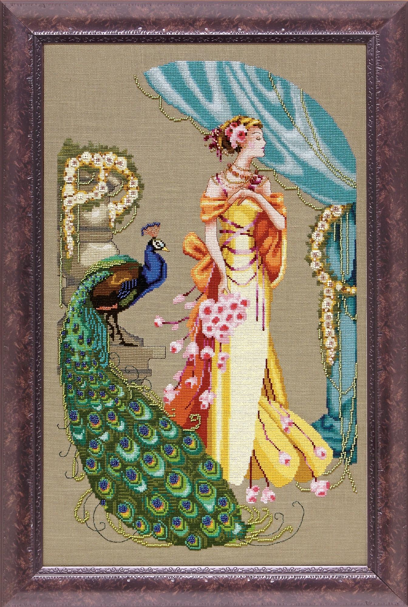 """Схема """"Lady Hera • Леди Гера"""" Mirabilia Designs MD107"""