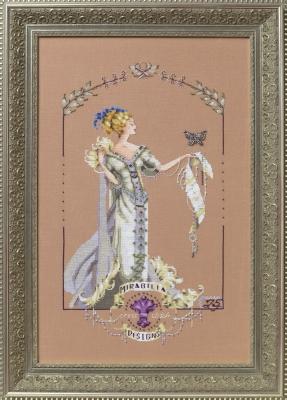 """Схема """"Lady Mirabilia • Леди Мирабилия"""" Mirabilia Designs + Трежерс MD158"""