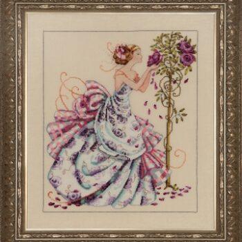 """Схема """"Roses of Provence • Розы Прованса"""" Mirabilia Designs MD124"""