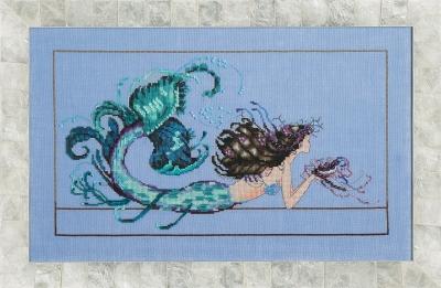 """Схема """"Mermaid Undine • Русалка"""" Mirabilia Designs MD134"""