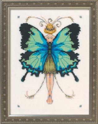 "Схема ""Miss Goss Swallowtail • Махаон"" Nora Corbett NC241"