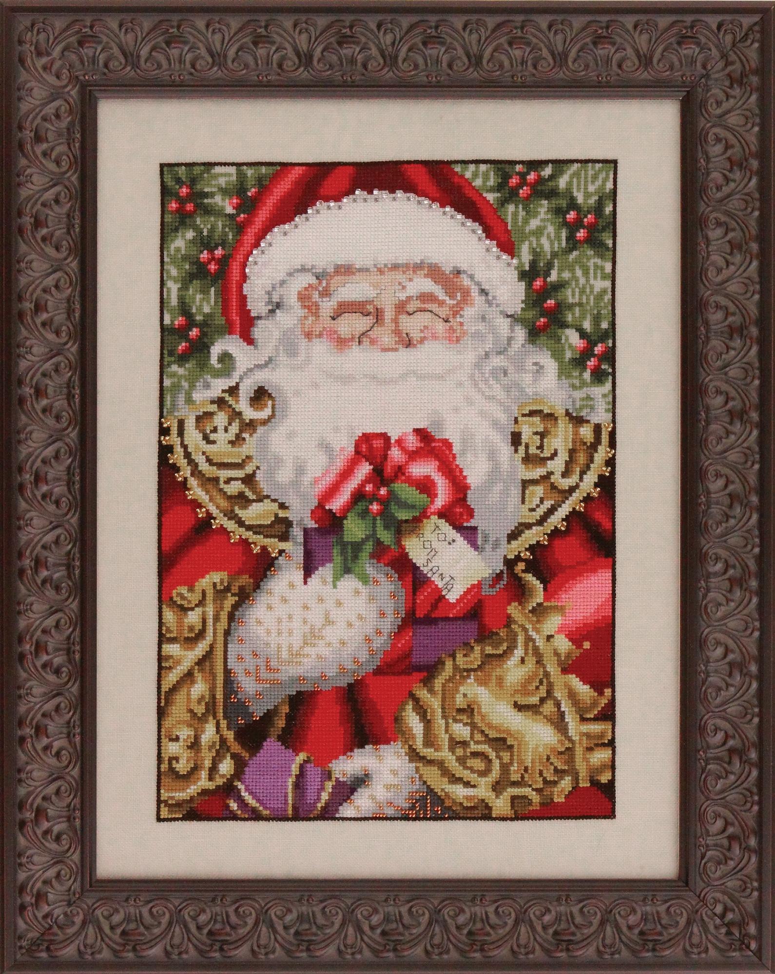 "Схема ""Santa • Санта"" Mirabilia Designs MD120"