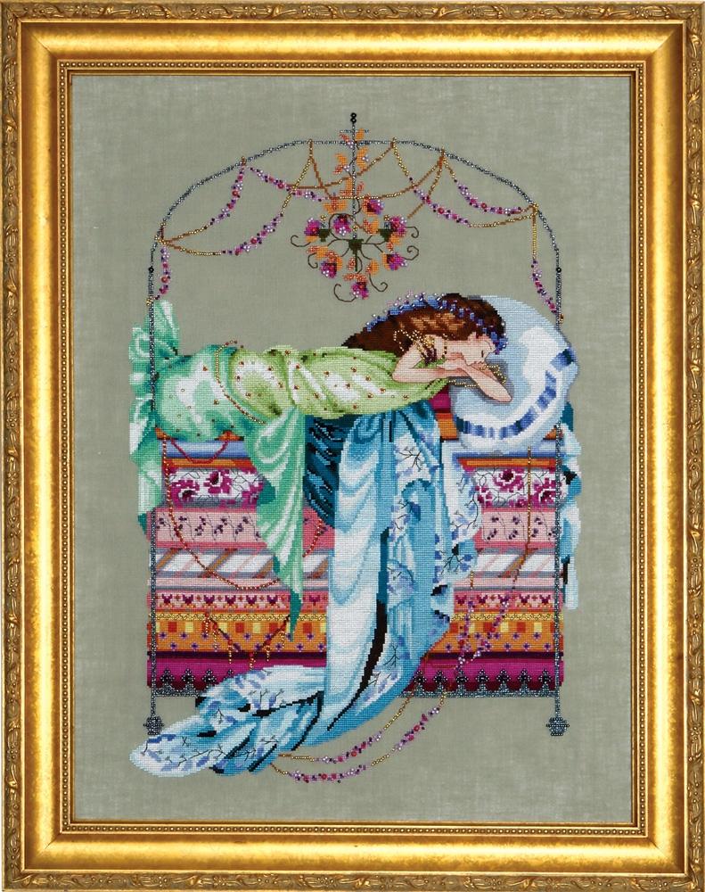"Схема ""Sleeping Princess • Спящая Принцесса"" Mirabilia Designs MD123"