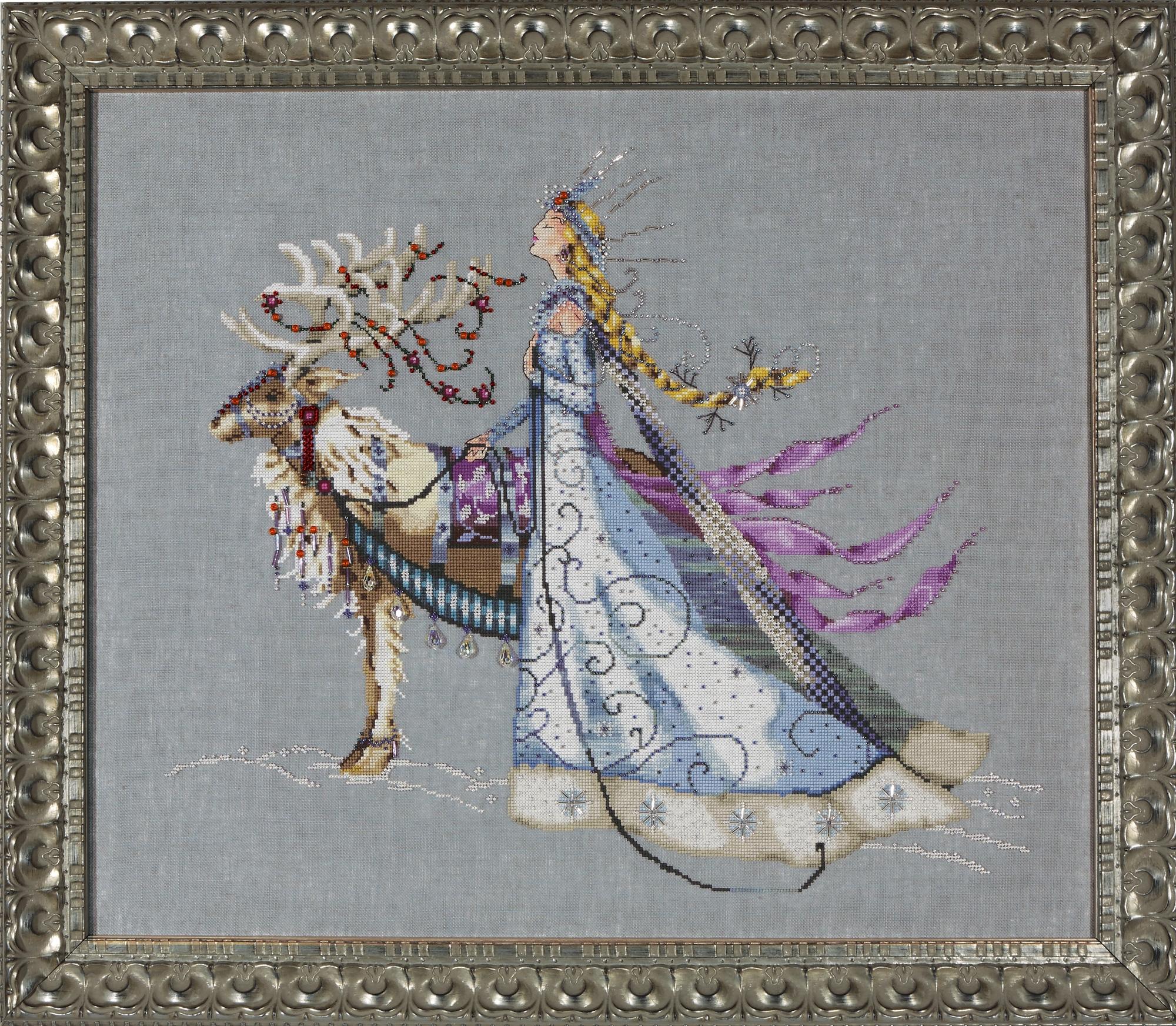 """Схема """"The Snow Queen • Снеговая Королева"""" Mirabilia Designs MD143"""