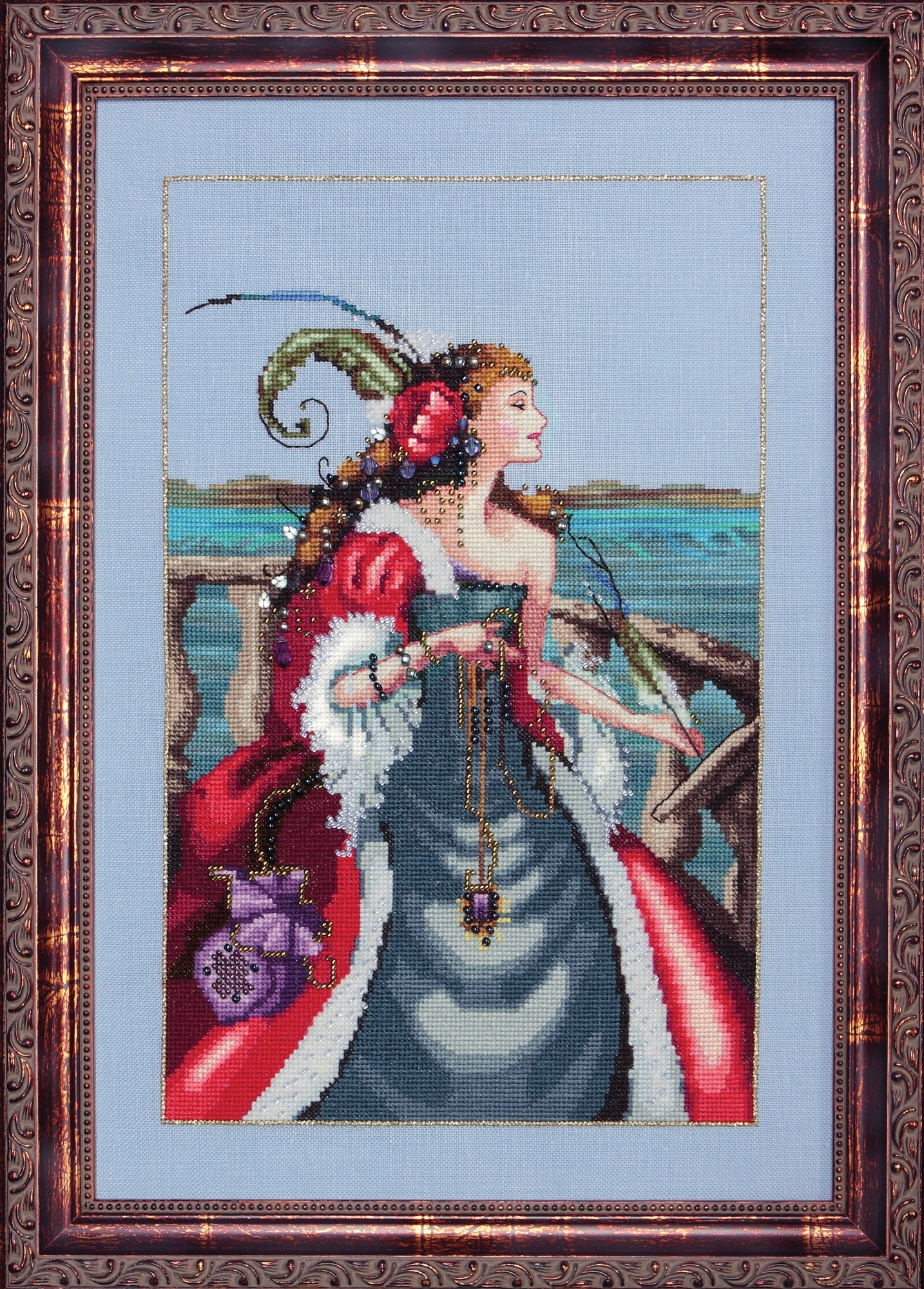 "Схема ""The Red Lady Pirate • Красная Леди Пират"" Mirabilia Designs MD113"