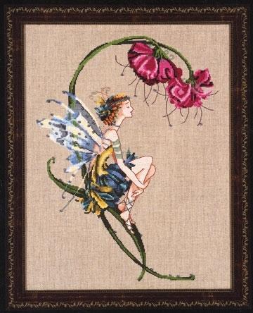 """Схема """"The Bliss Fairy • Фея Блаженства"""" Mirabilia Designs MD89"""
