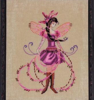 """Схема """"The Blossom Collector • Цветочный коллекционер"""" Nora Corbett NC217"""