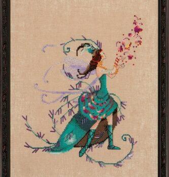 "Схема ""The Leaf Collector • Коллекционер листвы"" Nora Corbett NC215"
