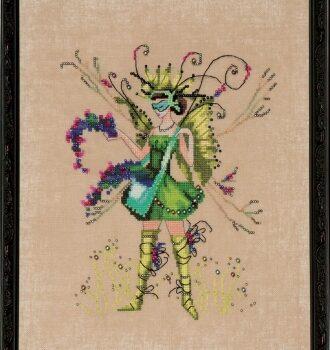 "Схема ""The Berry Collector • Собиратель ягод"" Nora Corbett NC216"