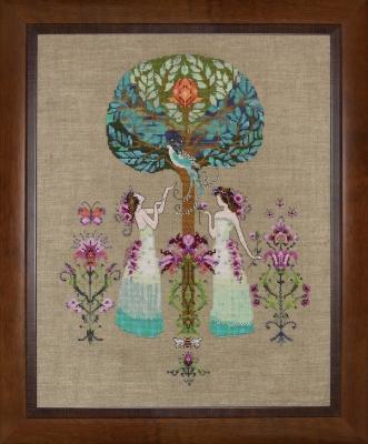 """Схема """"Tree of Hope • Древо Надежды"""" Mirabilia Designs MD109"""