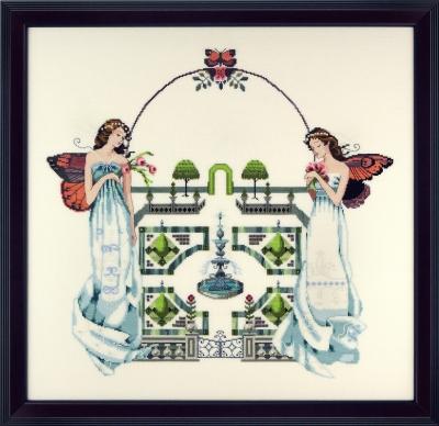 """Схема """"Spring Topiary Garden • Весенний сад"""" Mirabilia Designs MD110"""