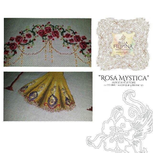 "Схема ""Rosa Mystica"" BELLA FILIPINA BF001"