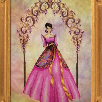"""Схема """"Reina Delas Flores"""" BELLA FILIPINA BF002"""