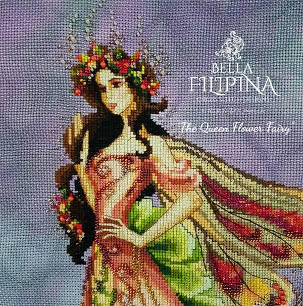 "Схема ""Queen Flower Fairy"" BELLA FILIPINA BF004"
