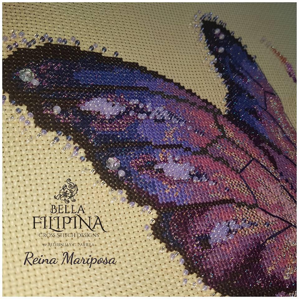 "Схема ""Reina Mariposa"" BELLA FILIPINA BF006"