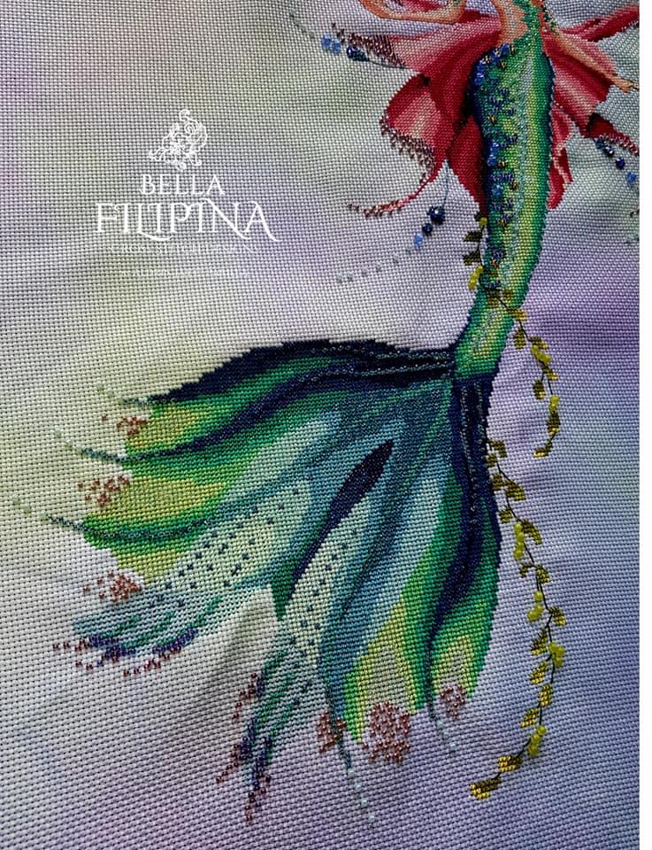 "Схема ""Aquamarina"" BELLA FILIPINA BF007"