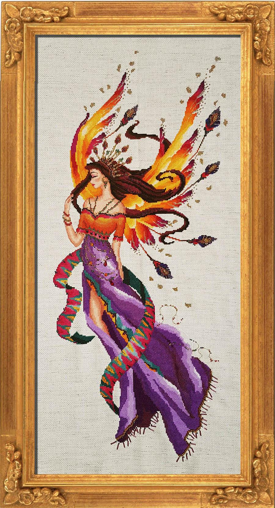 "Схема ""Queen Sari"" BELLA FILIPINA BF008"
