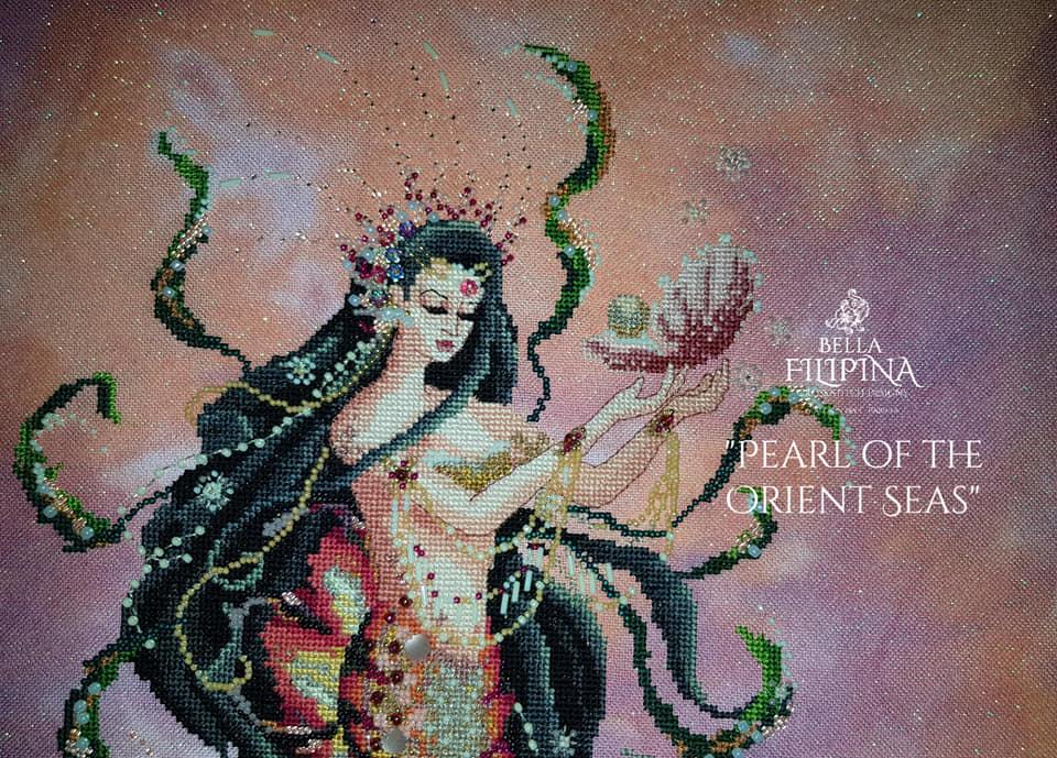 "Схема ""Pearl of the Orients Seas"" BELLA FILIPINA BF010"