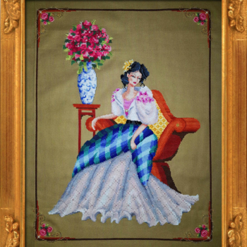 "Схема ""Portrain of Maria Clara"" BELLA FILIPINA BF011"