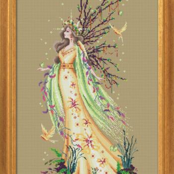 "Схема ""Gaia the Earth Goddess"" BELLA FILIPINA BF017"