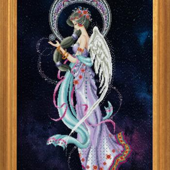 "Схема ""Mayari, Deity of the Moon"" BELLA FILIPINA BF020"