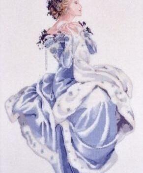 """Схема """"Winter Queen • Зимняя Королева"""" Mirabilia Designs MD13"""
