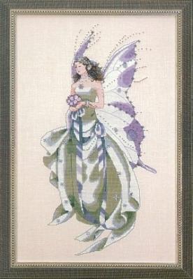 "Схема ""July's Amethyst Fairy • Липнева аметистова фея"" Mirabilia Designs MD59"