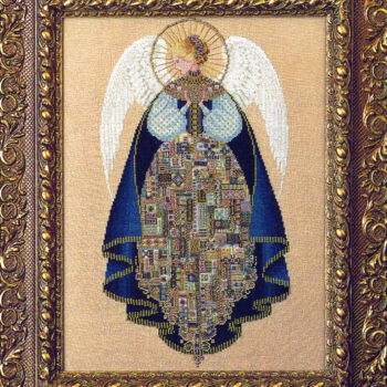 "Схема ""Angel of Love • Ангел Любви"" Lavender & Lace"