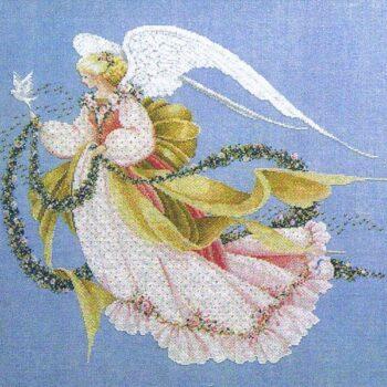 "Схема ""Angel of Summer • Ангел Лета"" Lavender & Lace"