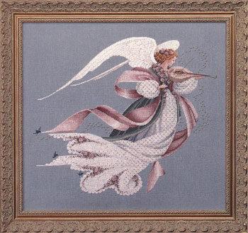"""Схема """"Angel of Spring • Ангел весны"""" Lavender & Lace"""