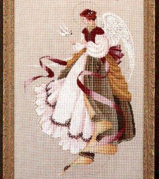 "Схема ""Angel of grace • Ангел Благодати"" Lavender & Lace"