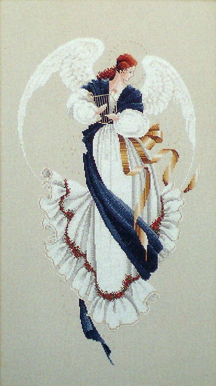 """Схема """"Angel of Hope • Ангел Надежды"""" Lavender & Lace"""