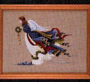 "Схема ""Angel of Freedom • Ангел Свободы"" Lavender & Lace"