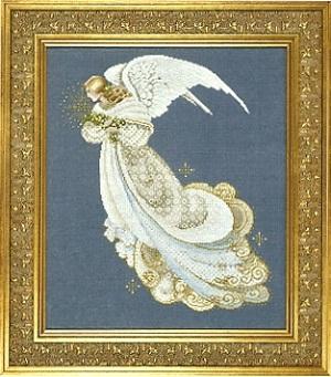 "Схема ""Angel of Dreams • Ангел снов"" Lavender & Lace"
