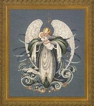 "Схема ""Angel of the Sea • Ангел Моря"" Lavender & Lace"