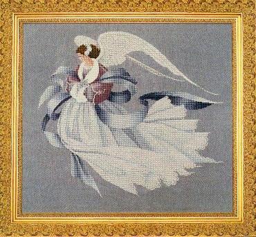 "Схема ""Angel of Winter • Ангел Зимы"" Lavender & Lace"