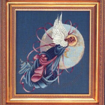 "Схема ""Blue Moon Angel • Лунный Ангел"" Lavender & Lace"