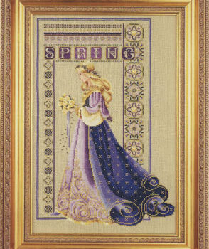 """Схема """"Celtic Spring • Кельтская весна"""" Lavender & Lace"""