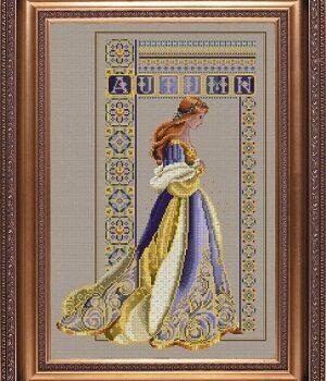 "Схема ""Celtic Autumn • Кельтская осень"" Lavender & Lace"