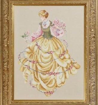"Схема ""Dance of the Roses • Танец роз"" Lavender & Lace"