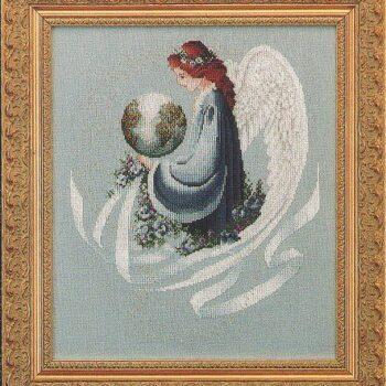 "Схема ""Earth Angel • Земной ангел"" Lavender & Lace"