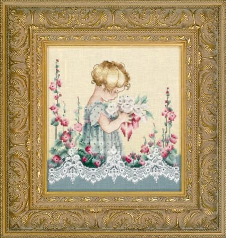 "Схема ""Emma's Garden • Сад Эммы"" Lavender & Lace"