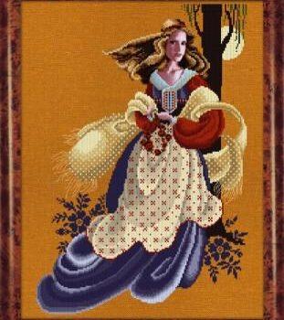 """Схема """"Evangeline • Эванджелин"""" Lavender & Lace"""