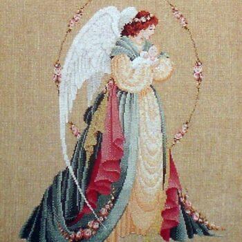 "Схема ""Guardian Angel • Ангел-Хранитель"" Lavender & Lace"