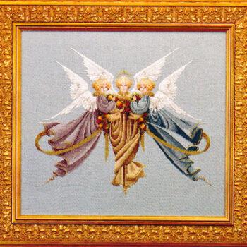 """Схема """"Heavenly gifts • Небесные Дары"""" Lavender & Lace"""