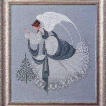 "Схема ""Ice Angel • Ледяной Ангел"" Lavender & Lace"