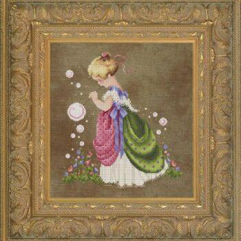 """Схема """"Isabella's Garden • Сад Изабеллы"""" Lavender & Lace"""